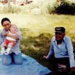 Dorothy, Andrew, and Walter, June 1983