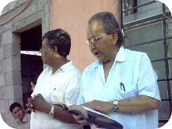 Roland Preaching a Sermon in Juarez, Mexico