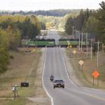 Northern Minnesota road